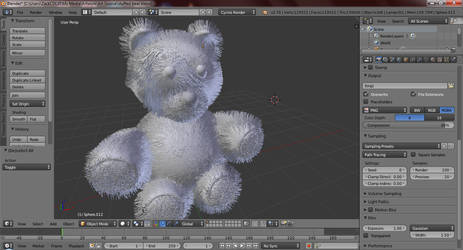 Stuffed Bear WIP by zackcdlvi
