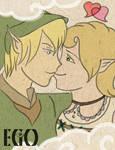 Link and Ilia