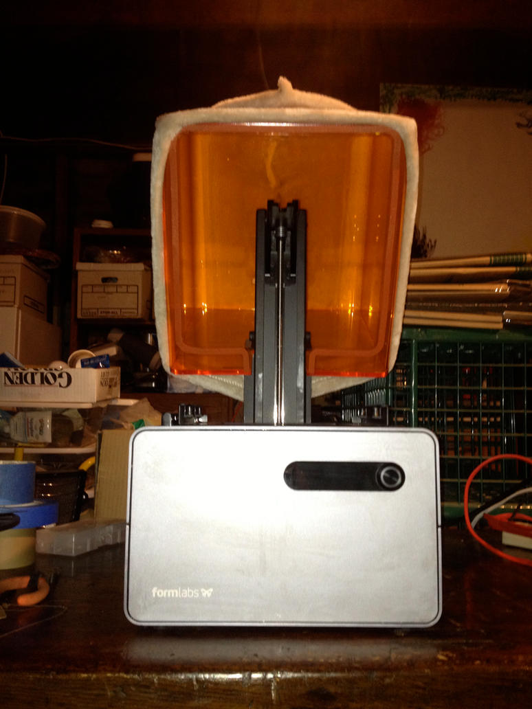 My Form 1 Plus with Printer Cozy by Ebalance on DeviantArt
