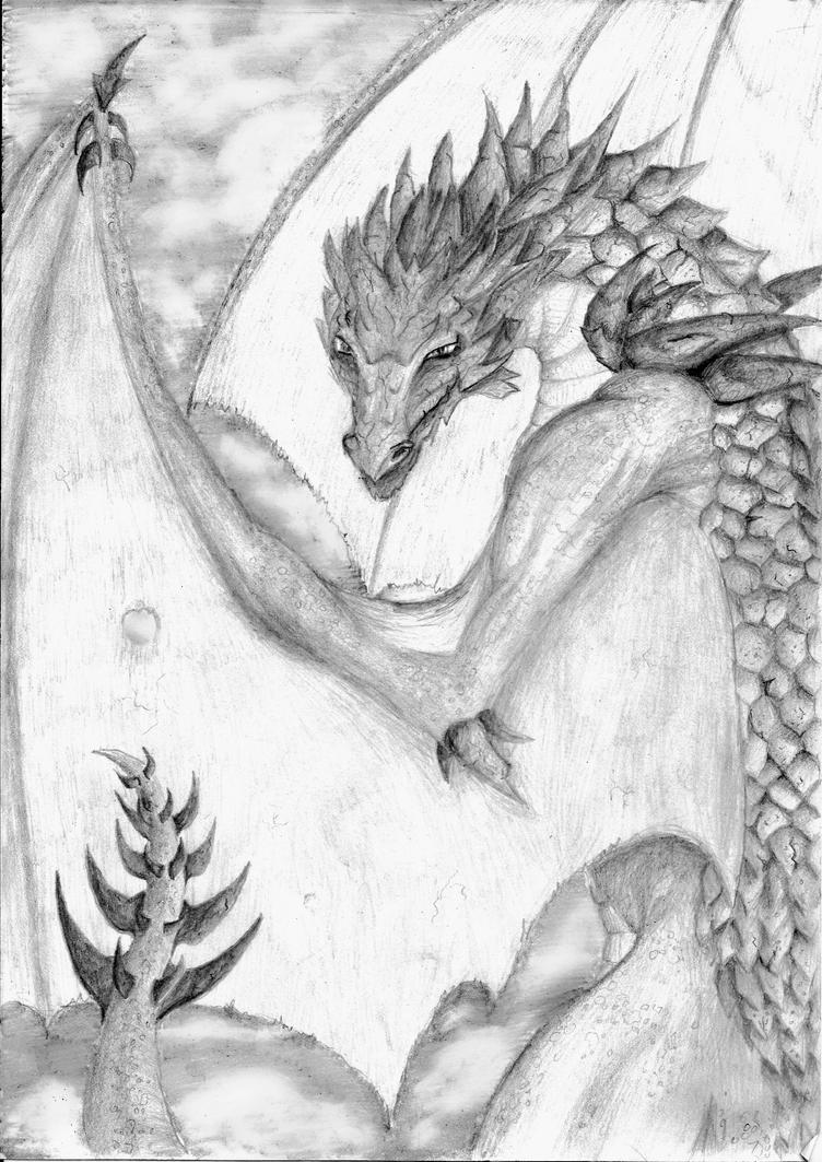 The Dragon by x-hearts-under-fire