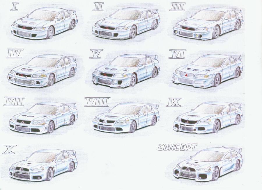 2005 Mitsubishi Lancer Evo Upcomingcarshq Com