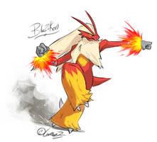 Pokemon: Blaziken by LeemonZ