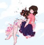 Falling Down Flowers