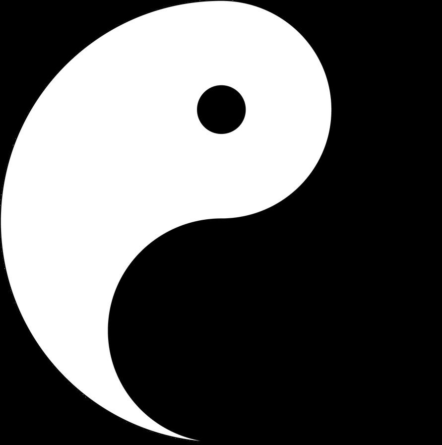 Ying and Yang symbol by Jardas46