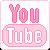 Pink YouTube Icon by ichigocandii