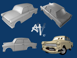 Trabant 'Cars'-Style WIP