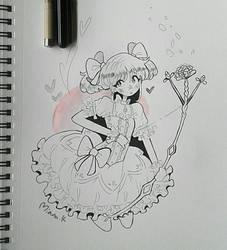 Day 6: Archer by Miana-Katana