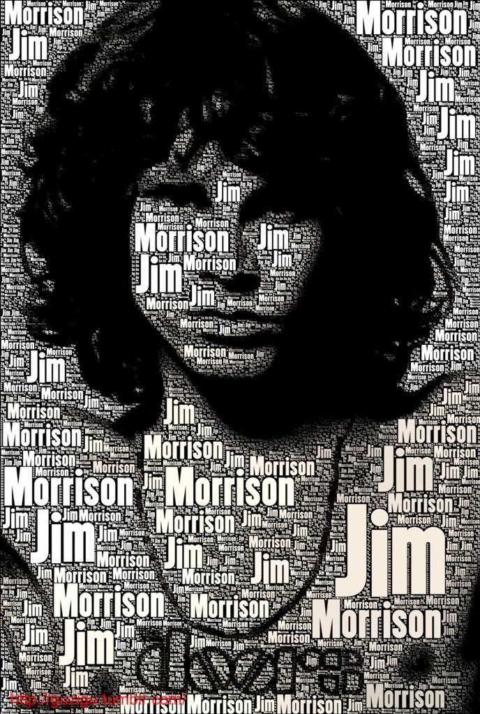 JIM MORRISON THE DOORS By Guzigu
