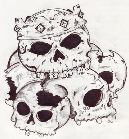 Pile Of Skulls by KGNINE on