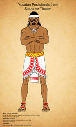 Yucatan Postclassic of Tibolon or Sotuta by Kamazotz