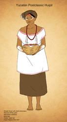 Postclassic Maya Huipil (ii) by Kamazotz