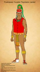 Postclassic Maya Tiquibalon Jacket by Kamazotz