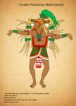 Yucatan Postclassic Maize Dancer