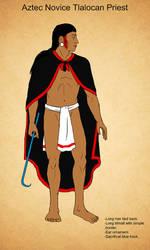 Aztec Tlaloc Priest by Kamazotz