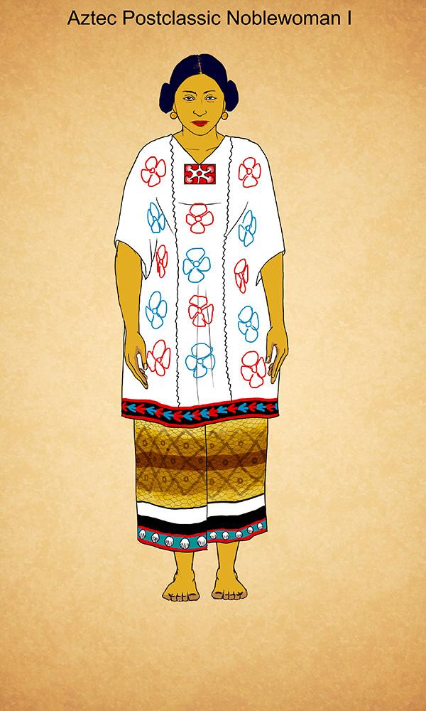 Aztec Postclassic Noblewoman I by Kamazotz