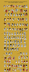 Maya Women Hairstyles of the Classic Period by Kamazotz