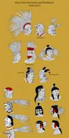 Aztec Warrior Hairstyles