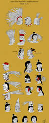 Aztec Warrior Hairstyles by Kamazotz