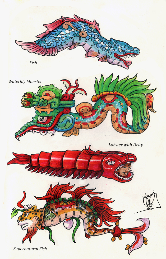 Mesoamerican sources by kamazotz on deviantart maya sea creatures by kamazotz fandeluxe Choice Image