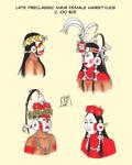 Preclassic Maya Hairstyles