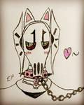 Kitty~ by GhostFreak-Artz