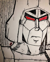 G1 Megatron  by GhostFreak-Artz