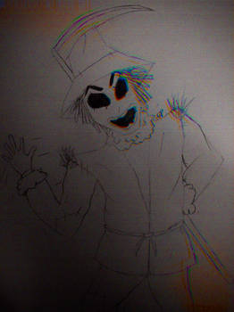 Spooky Scary Scarecrow