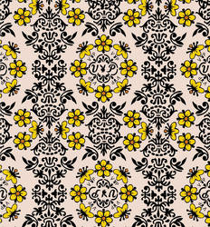 Floral Pattern by GraceHahn