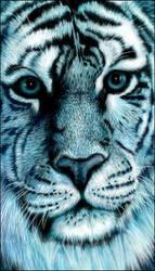 Blue tiger by starmist
