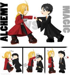 Alchemy VS Magic