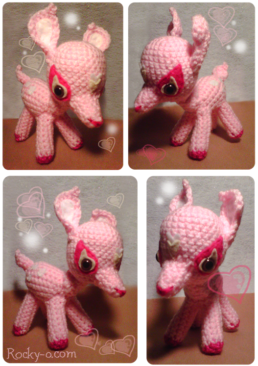 Amigurumi Deer : Amigurumi deer by Meowkernaut on DeviantArt
