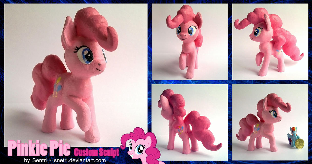 Pinkie Pie Sculpt by Snetri