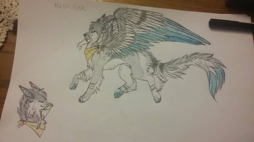 How does Chaiga look with wings by theCatrixx