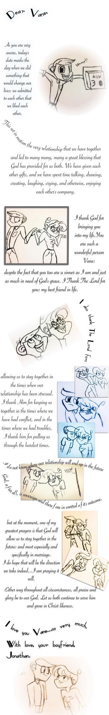 Happy Anniversary Vane! by Jon-The-Hillbilly