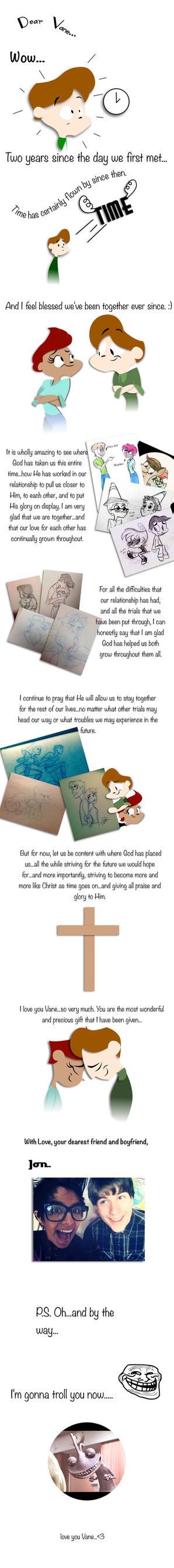 Dear Vane: 2nd Anniv Comic. by Jon-The-Hillbilly