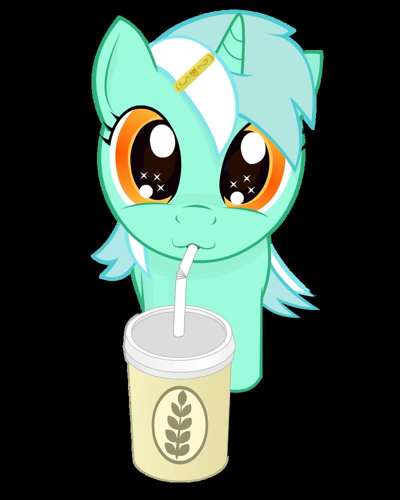 My little Lyra and big shake