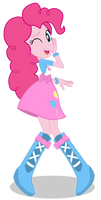 Pinkie Pie - Equestria girl