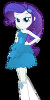 Rarity - Equestria Girl by negasun