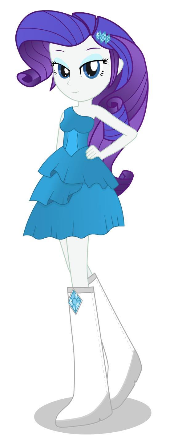 Rarity - Equestria Girl by negasun
