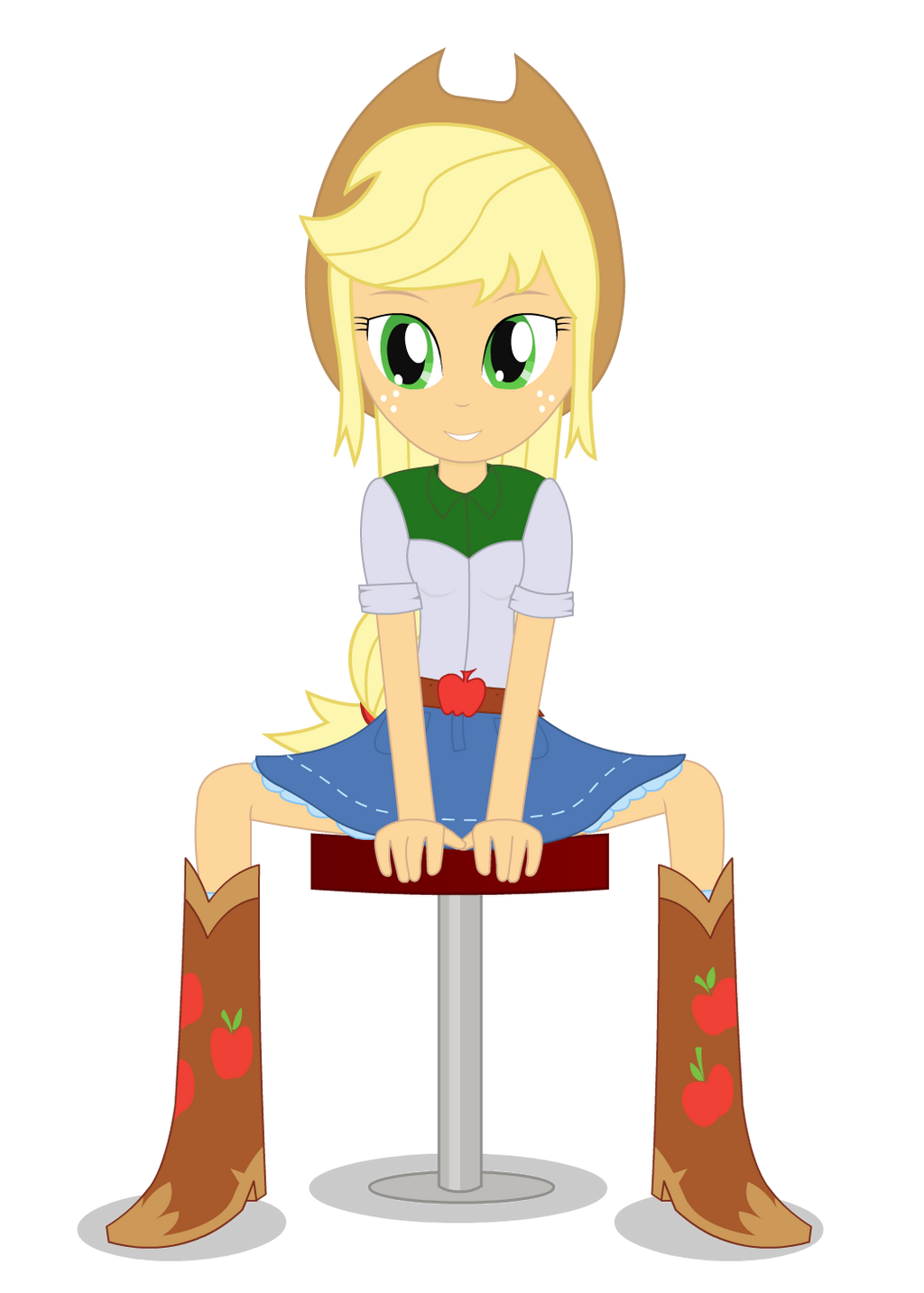 AppleJack - Equestria Girl by negasun