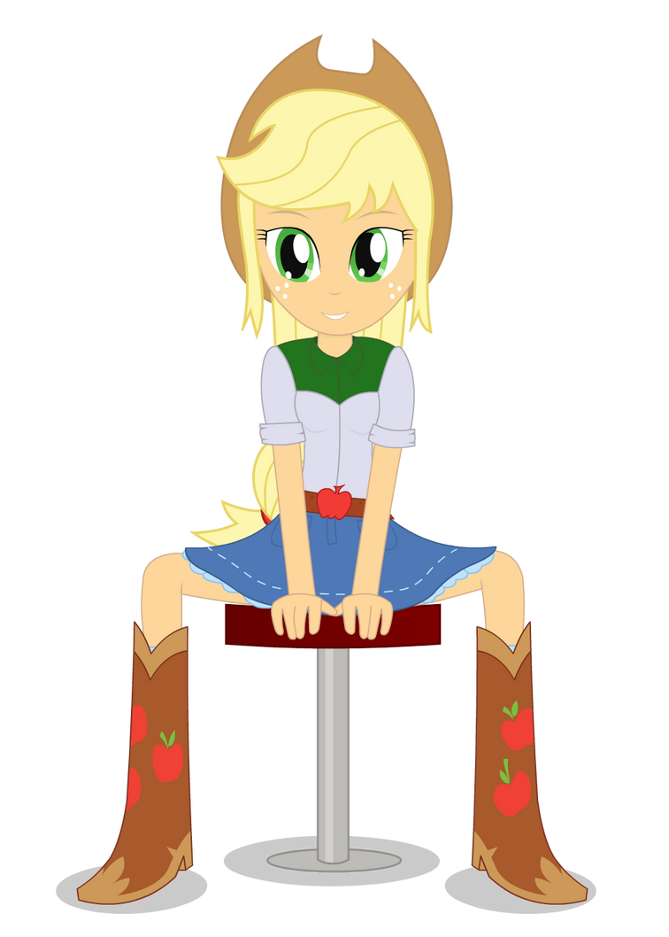 AppleJack - Equestria Girl by negasun
