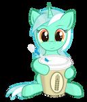 Lyra with soda