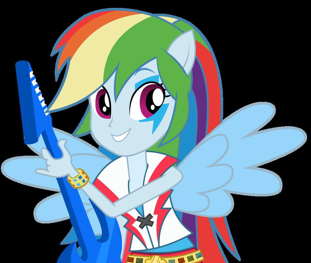 Rainbow Dash - Equestria Girl 2 Rainbow Rocks by negasun