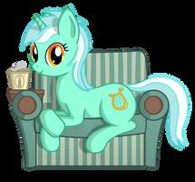 Lyra with soda by negasun