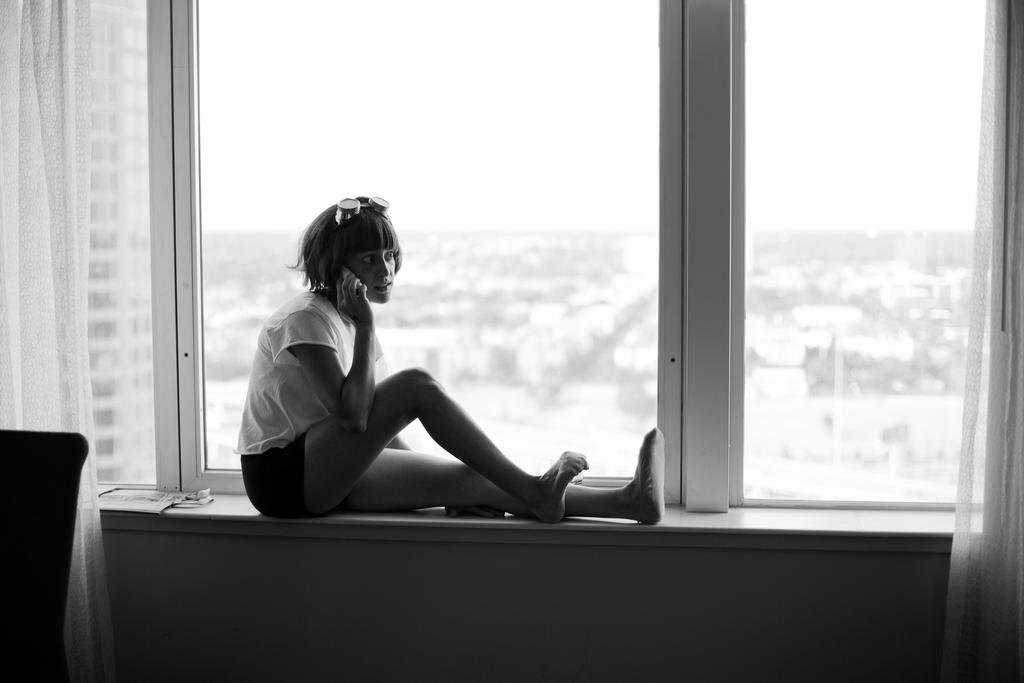 Ed in a Windowsill by BurlapZack