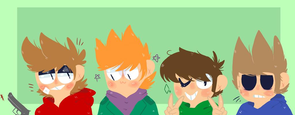 ah eggsworld, the british anime by Tomorroq