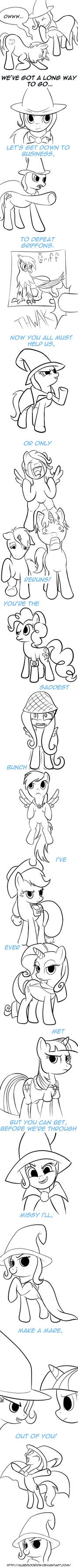 Comic - Make a Mare Out of You