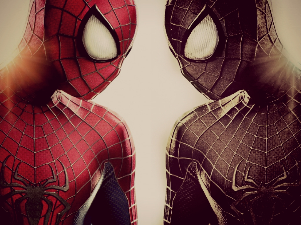 spiderman black and red - HD1024×768