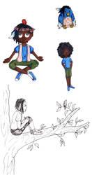 Jay Sketch Dump1 by Neko-Meep