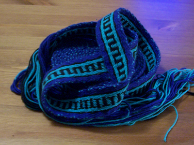 Blue Tabletweave by Enira